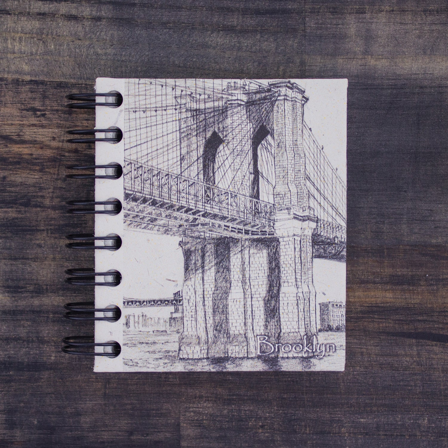 Small Notebook Brooklyn Bridge Sketch