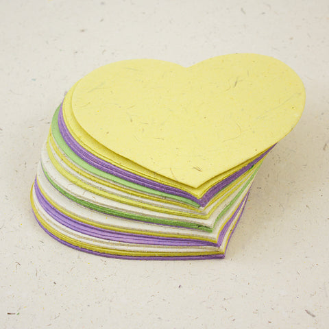 Heart Shaped Note Box Refills
