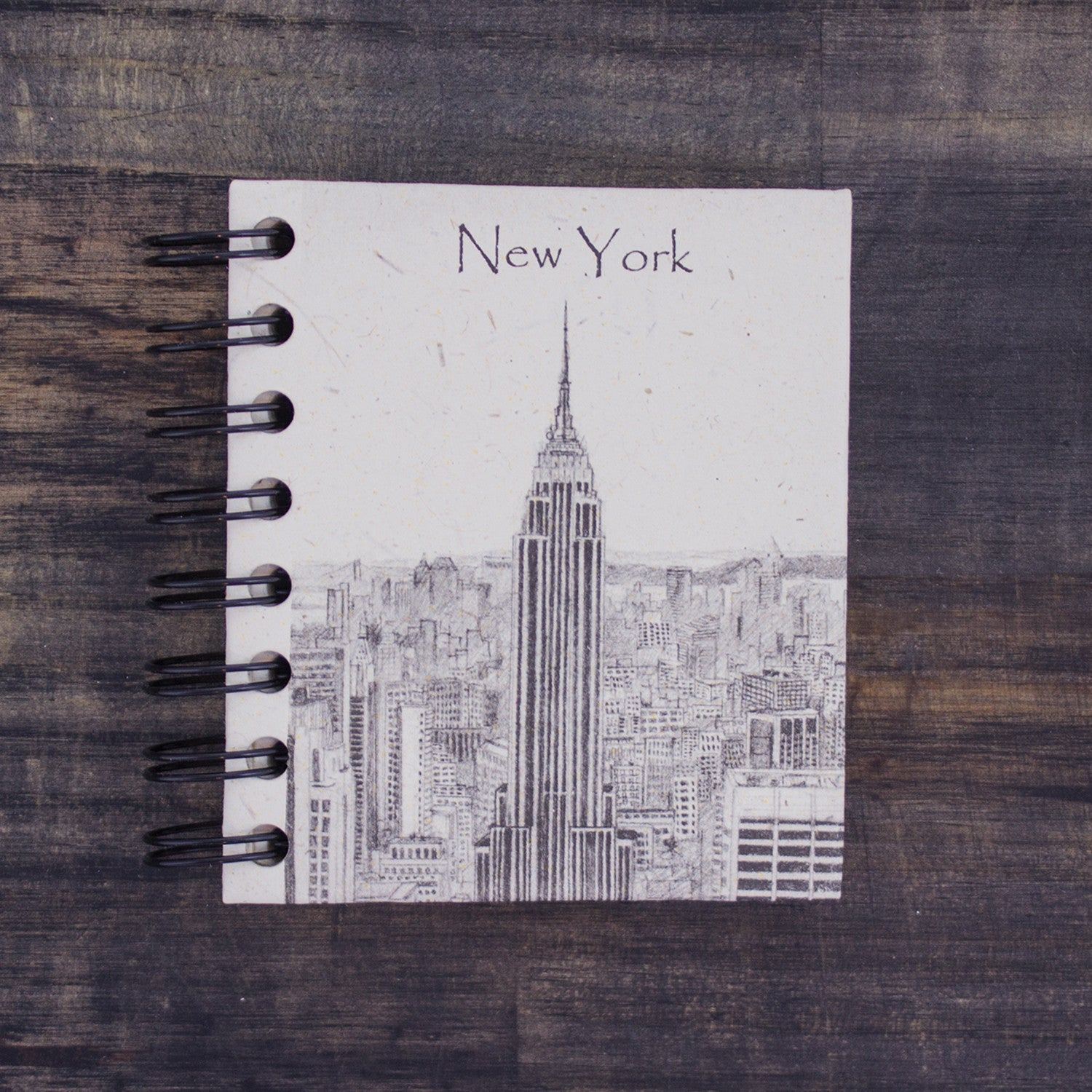 Small Notebook Empire State Building Sketch