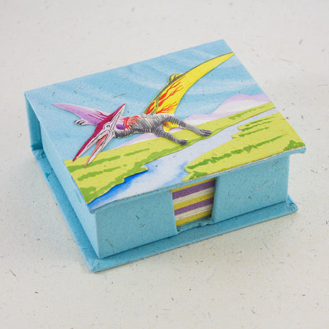 Note Box Pterodactyl Robin's Egg Blue