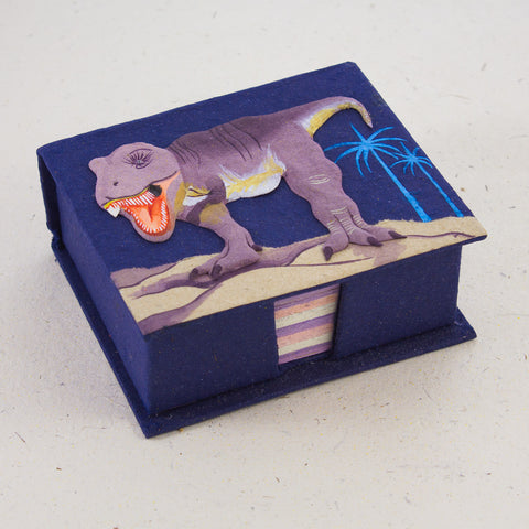 Note Box T-Rex Dark Blue