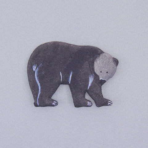Magnetic Poo Black Bear