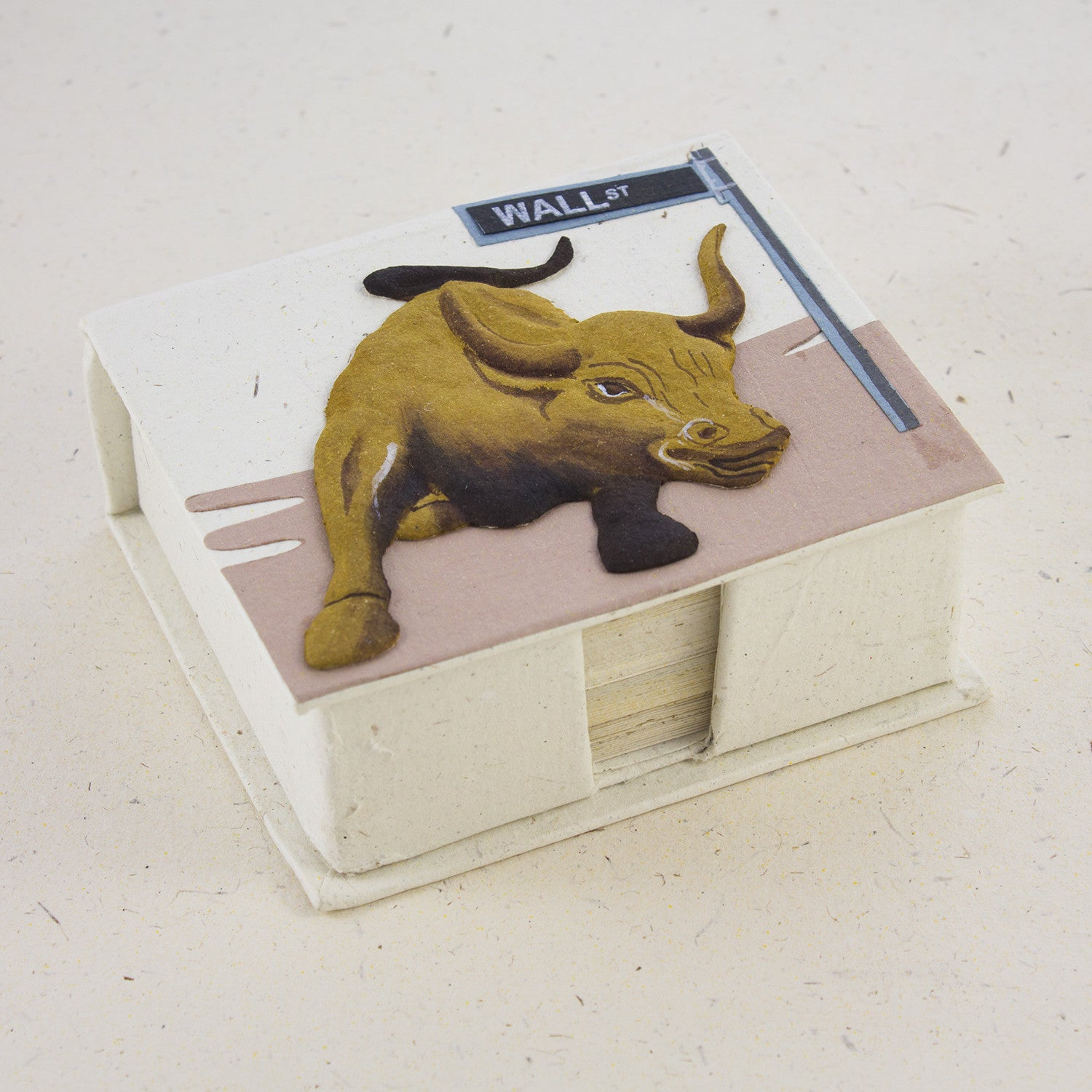 Wall Street Gifts Mrellie Pooh • Handmade Fair Trade Gifts • Note Box Wall Street