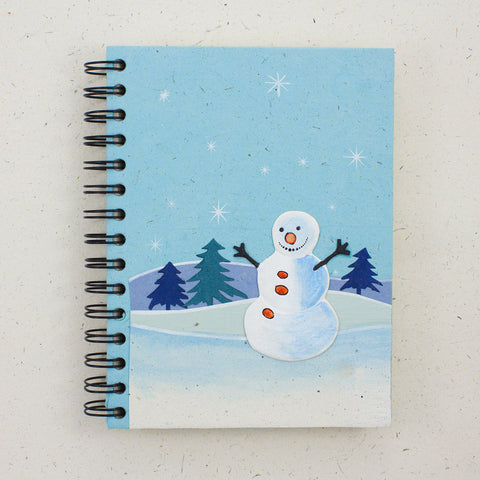 Large Notebook Curry the Snowman