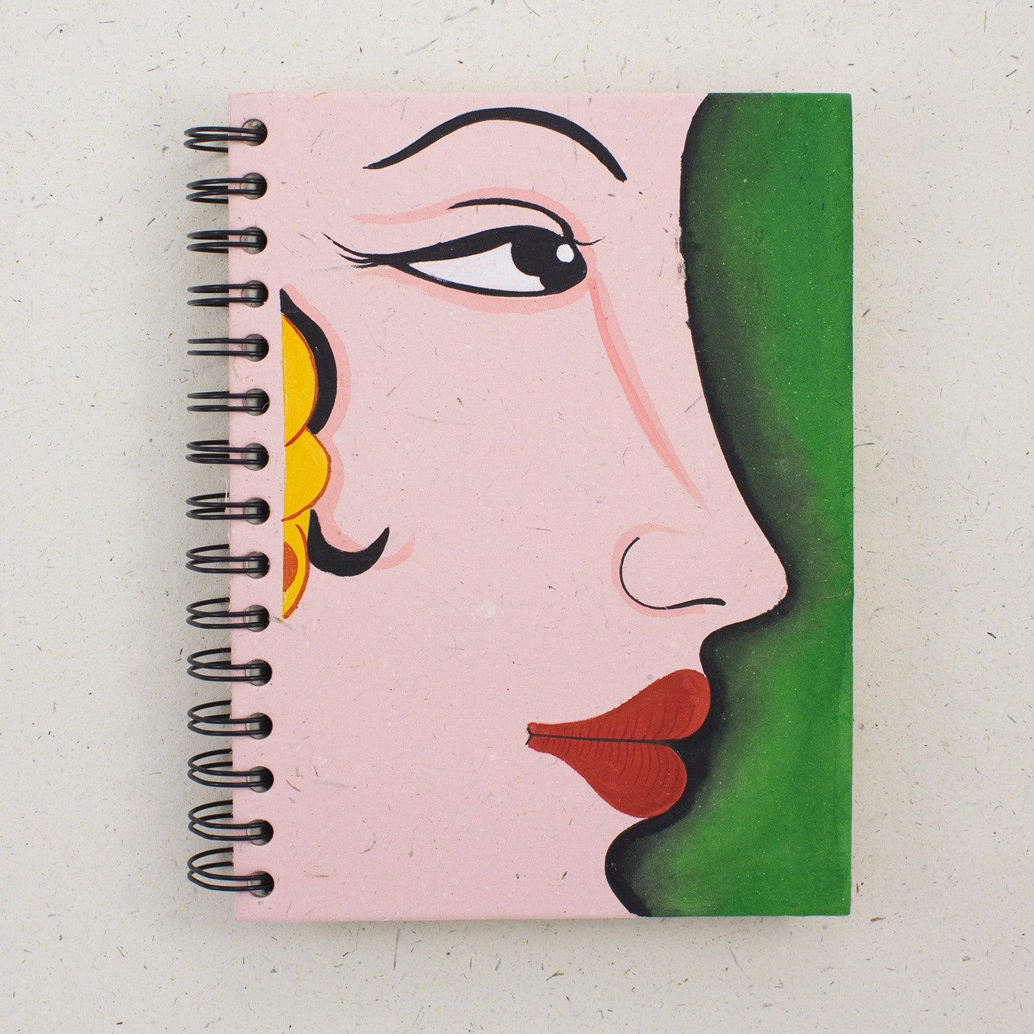 Large Notebook Princess Light Pink