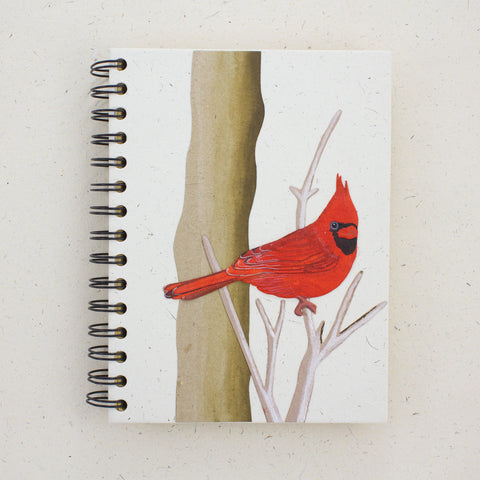 Large Notebook Cardinal Natural White