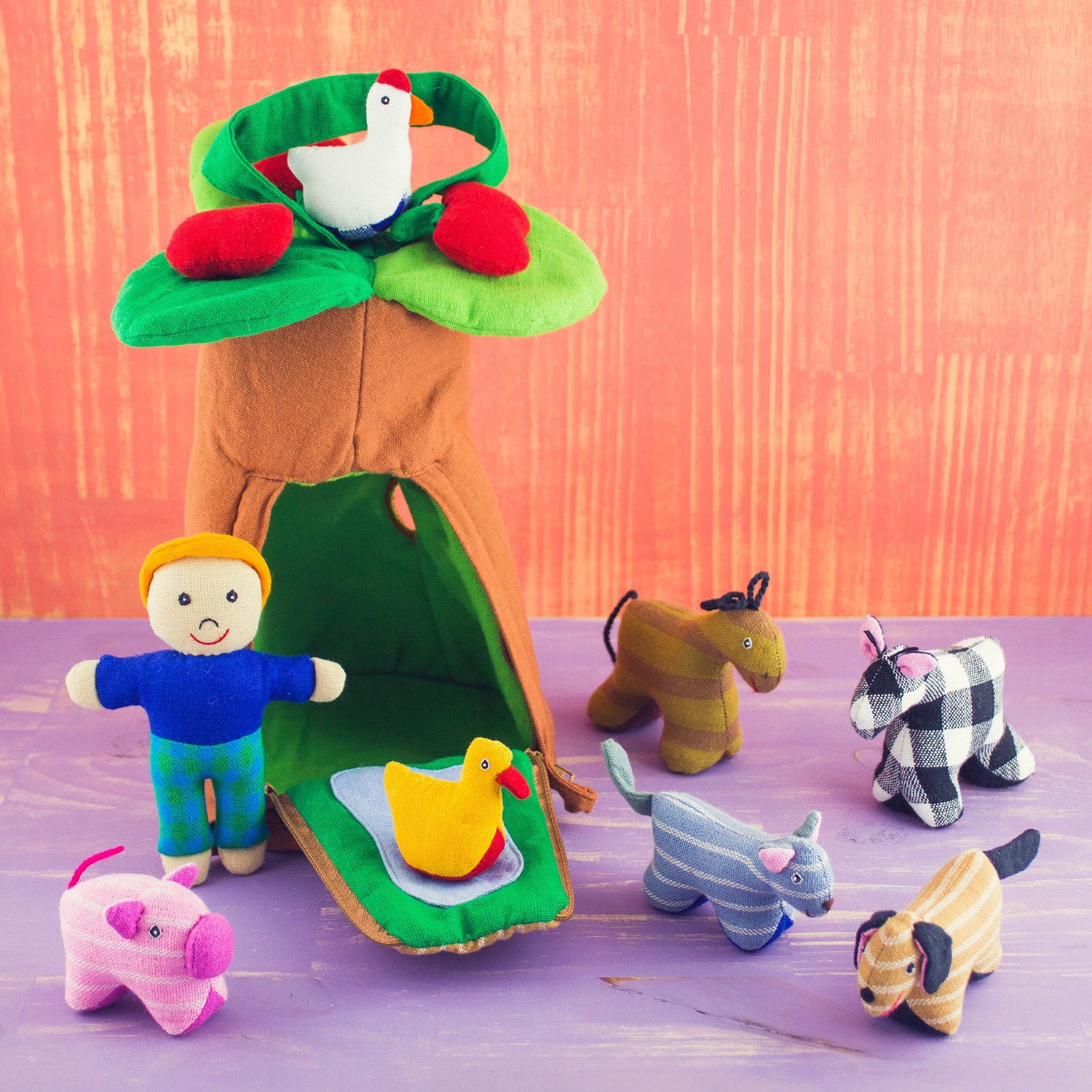 Playhouse Set Farm Animals