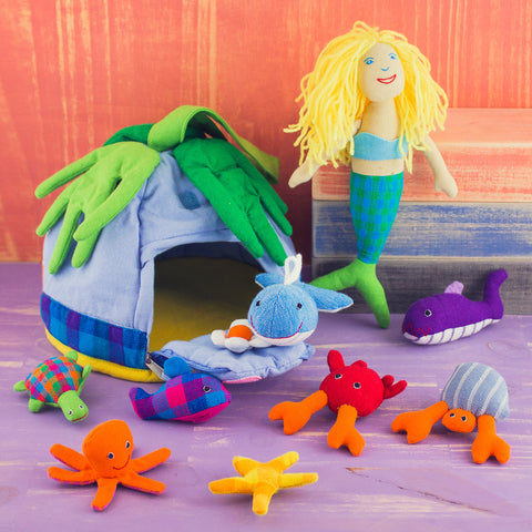 Playhouse Set Mermaid and Friends