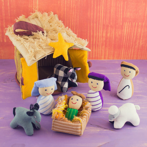 Playhouse Set Nativity