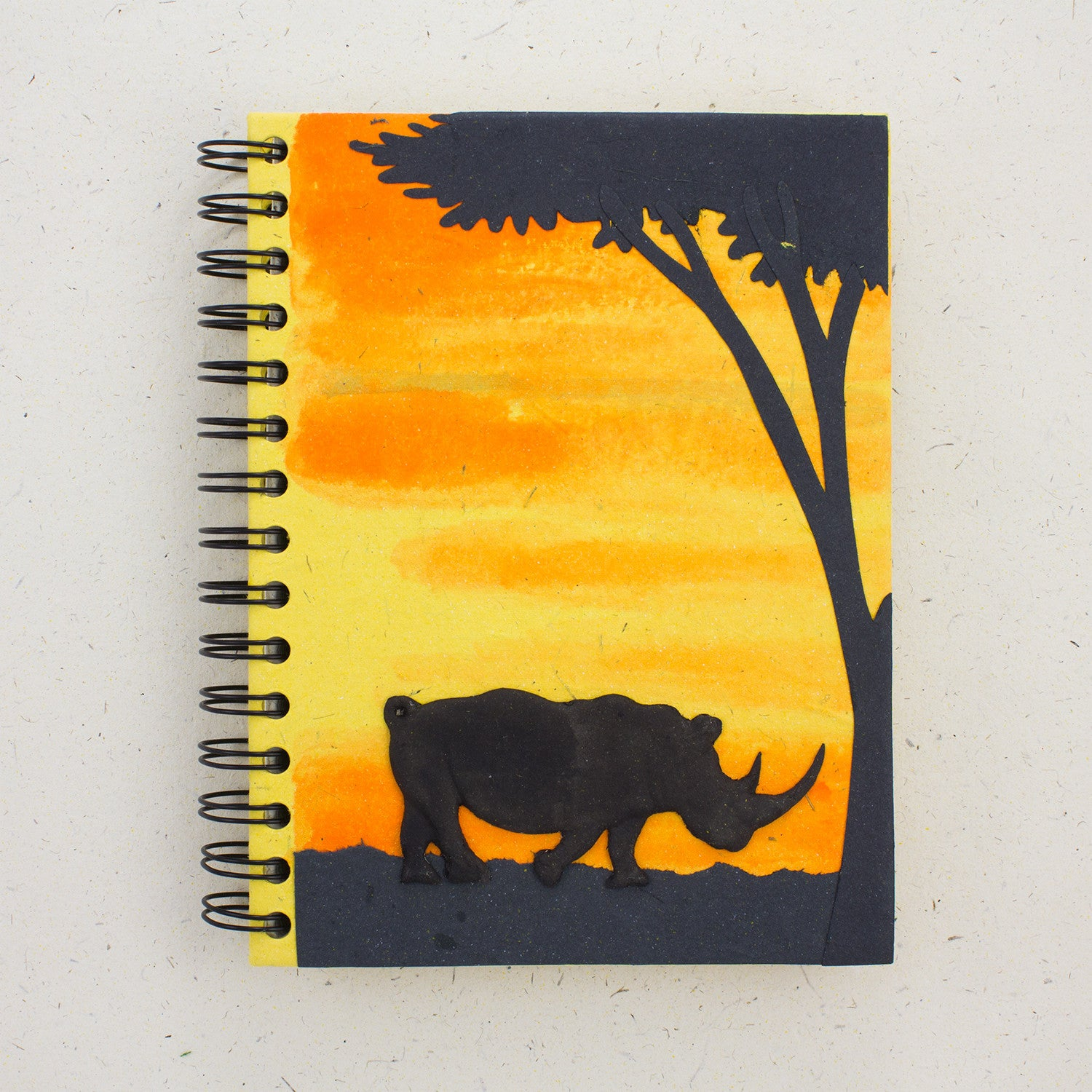 Large Notebook Rhino Yellow
