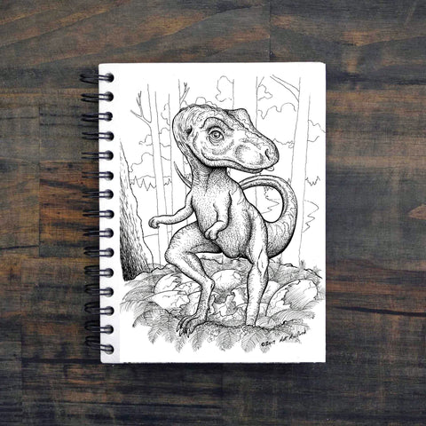Large Notebook - Baby T-Rex