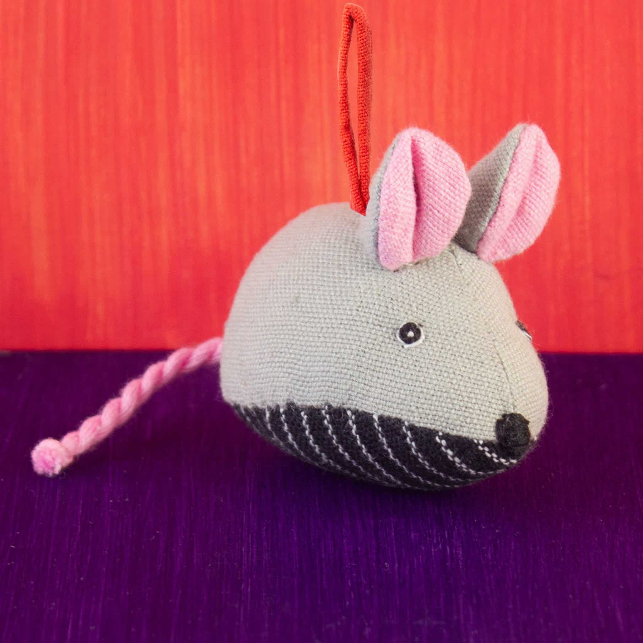 Fabric Ornament Mouse