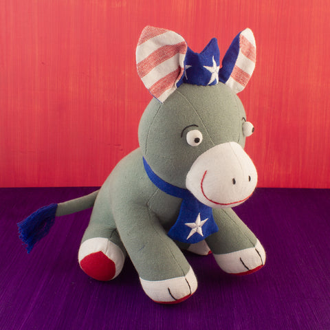 Patriotic Donkey Doll