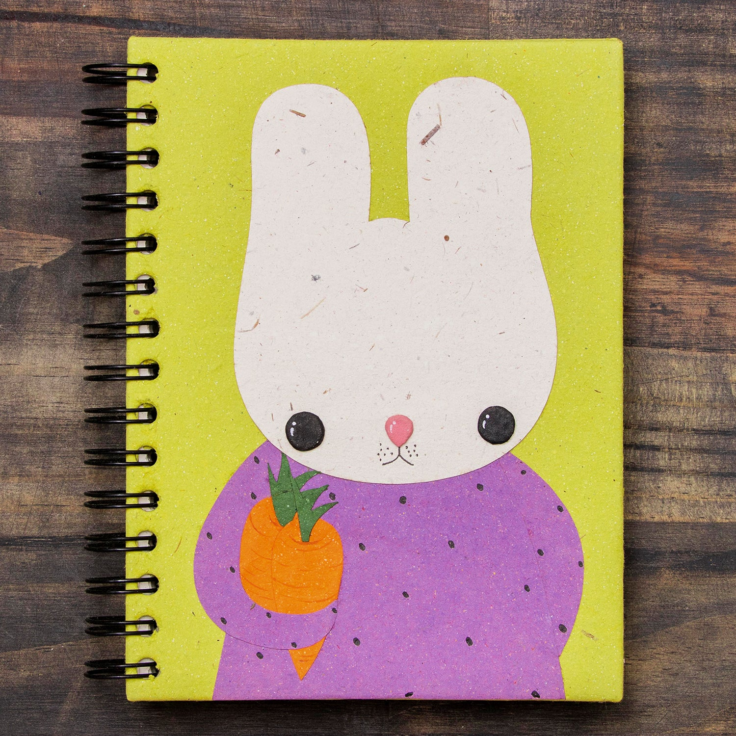 Large Notebook Bruce the Bunny
