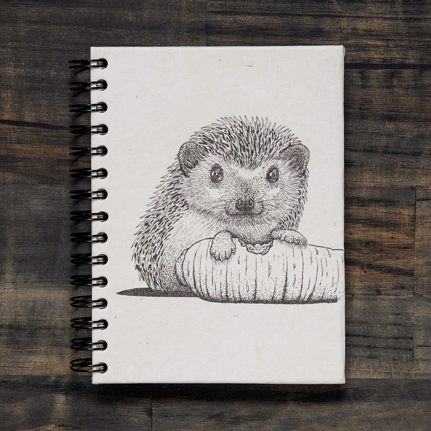 Large Notebook Hedgehog Sketch