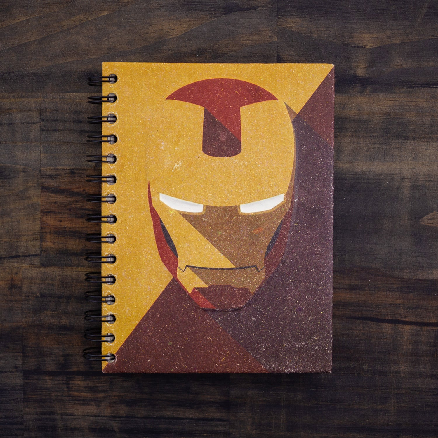 Large Notebook Armored Avenger