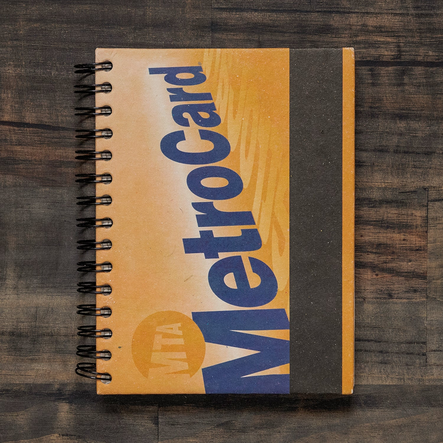 Large Notebook MetroCard
