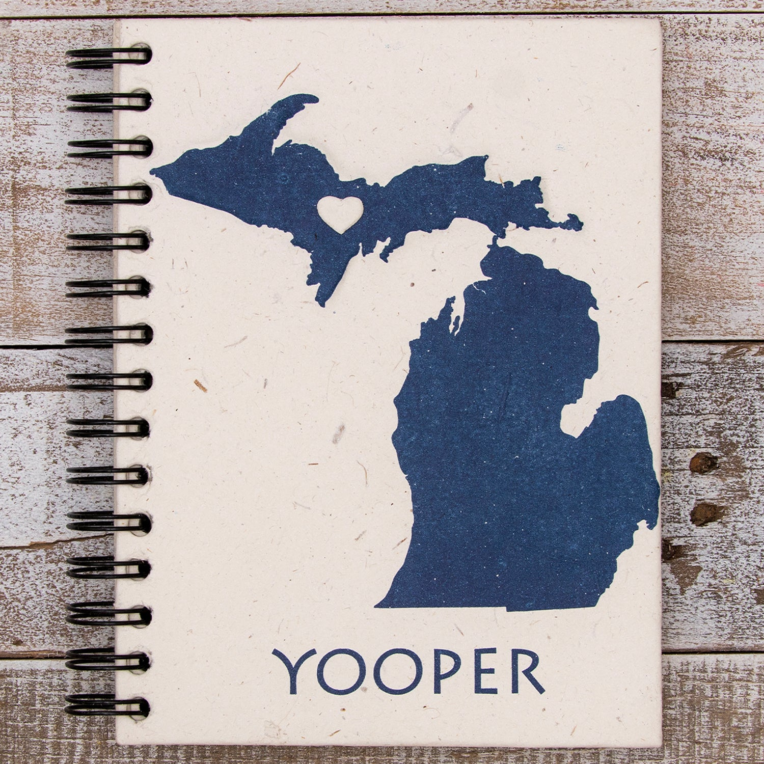 Large Notebook Michigan Yooper