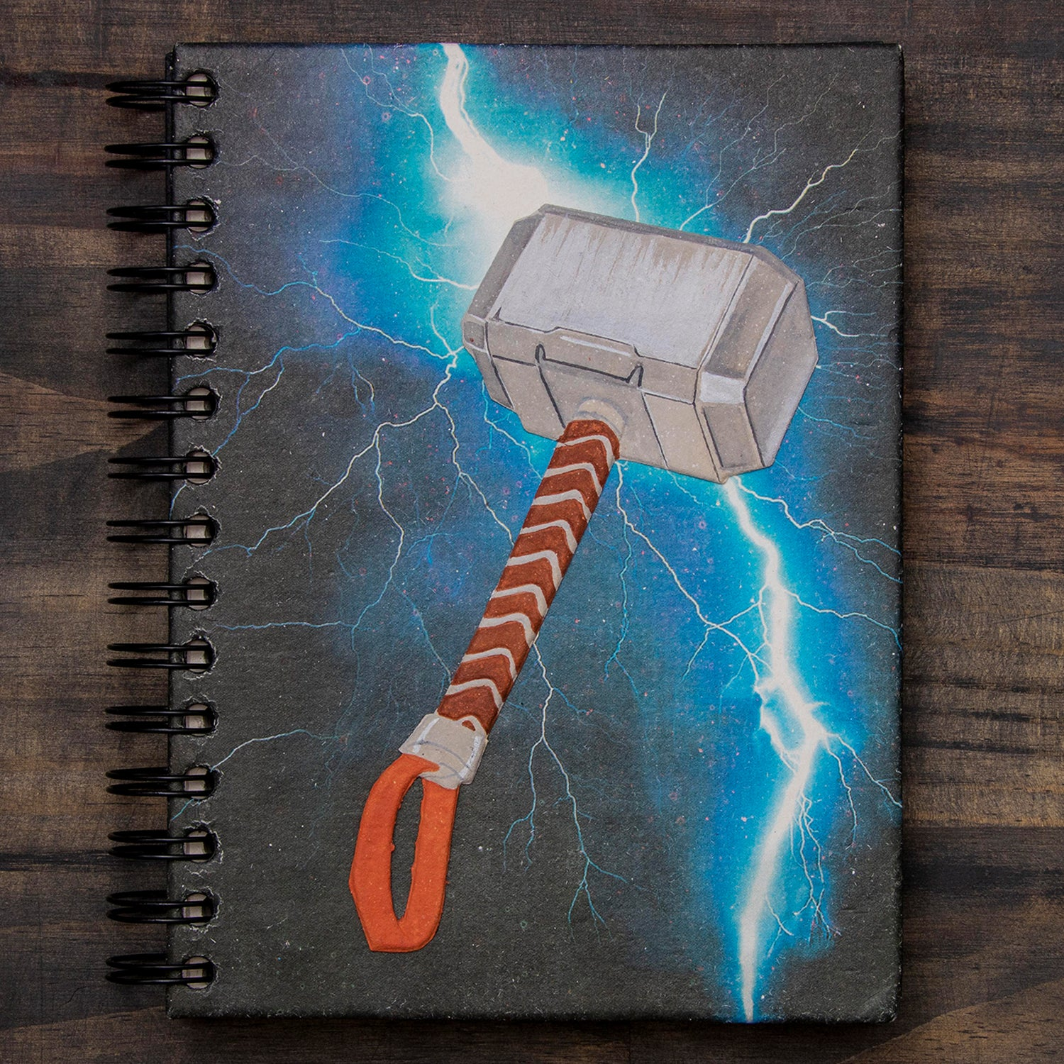 Large Notebook Mighty Mjolnir