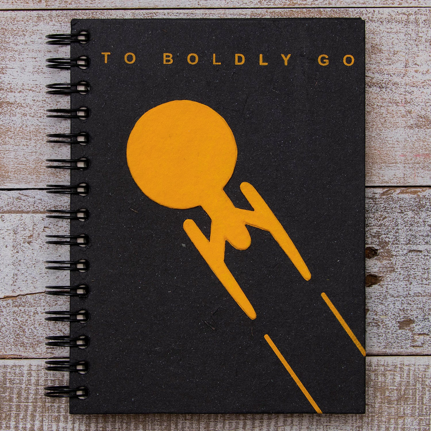 Large Notebook To Boldly Go...