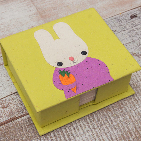 Bruce the Bunny Note Box with Notes