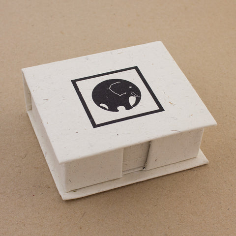 Note Box Elephant Circle