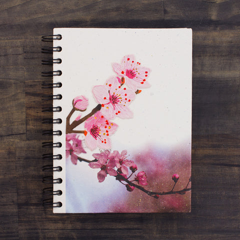 Large Notebook Cherry Blossoms