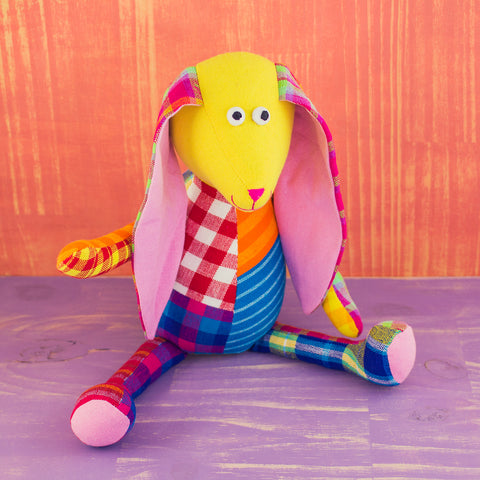 Patchwork Doll Rabbit Large