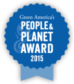 Green America Peaple and Planet Award 2015