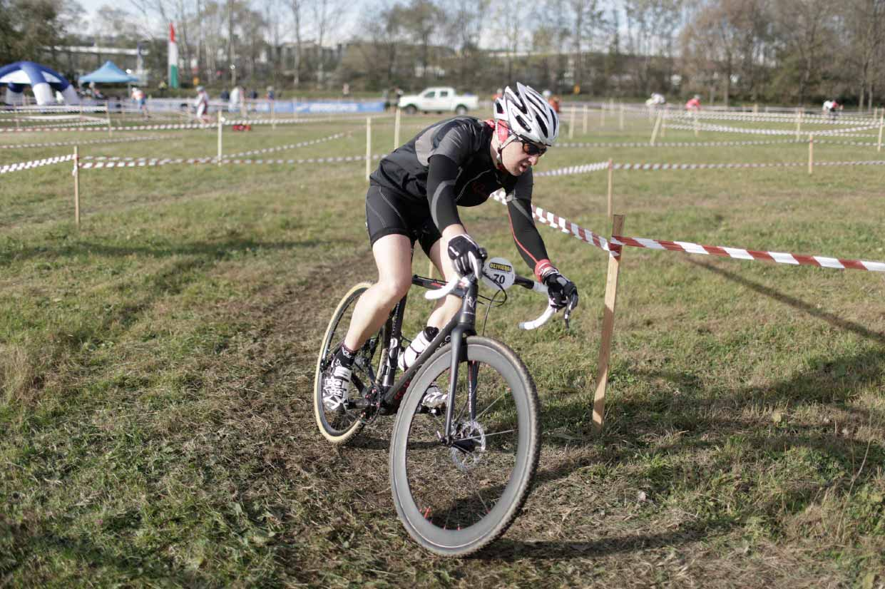 At a Cyclocross race in 2013.