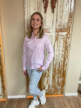 Afbeelding in Gallery-weergave laden, Lila blouse basic