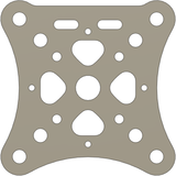 Open Racer Top Plate by Limon