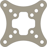 OpenRacer XV Top Plate by XeroVolume