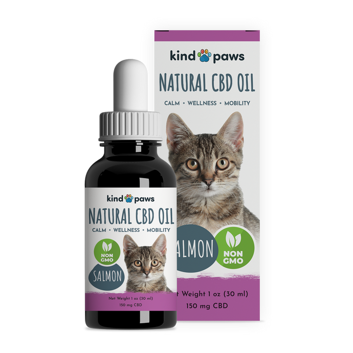Natural CBD Oil for Cats - kindpaws