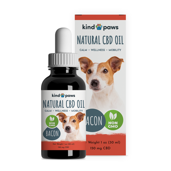 Natural CBD Oil for Dogs - kindpaws