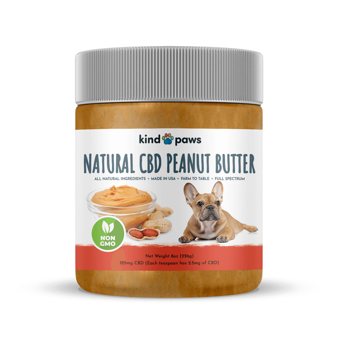 Natural CBD Peanut Butter - kindpaws