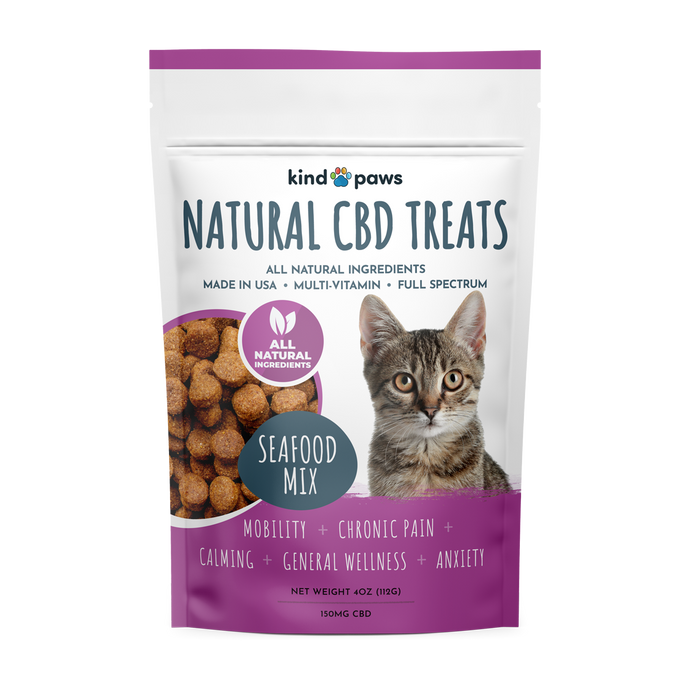Natural CBD Cat Treats - kindpaws