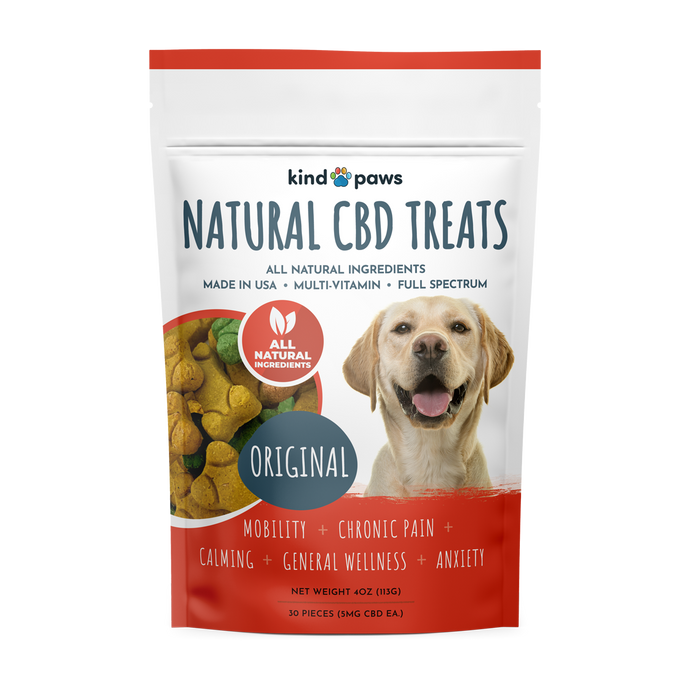 All Natural CBD Dog Treats - kindpaws