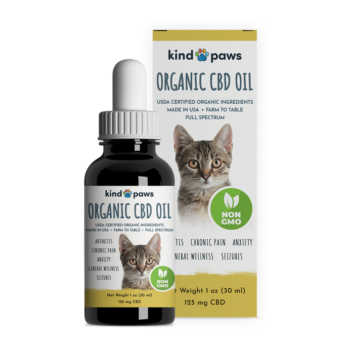 Organic CBD Oil for Cats - kindpaws