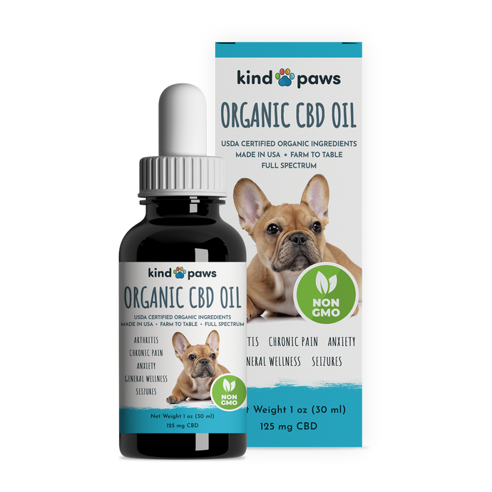 Organic CBD Oil for Dogs - kindpaws