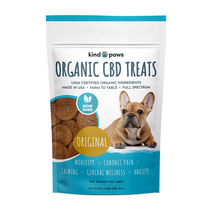 Organic CBD Dog Treats - Original - kindpaws