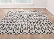 Load image into Gallery viewer, Moonstruck Jet Black Area Rug