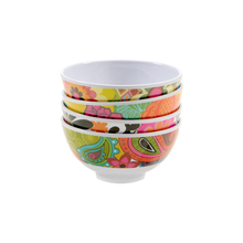 Load image into Gallery viewer, Floral Mini Bowl Set/4