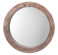 Load image into Gallery viewer, Reclaimed Wood Mirror