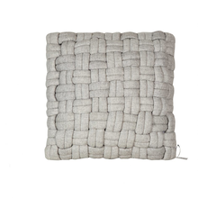 Load image into Gallery viewer, Bella Wool Pillow Pebble Grey