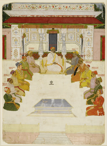 02. Ancestral Portrait of the Rulers of Jaipur