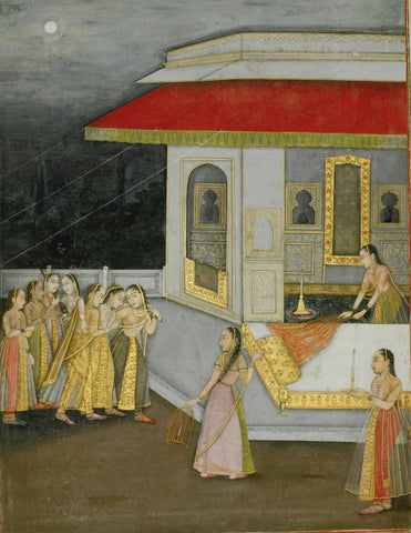 01. Maiden Being Led to her Bedchamber