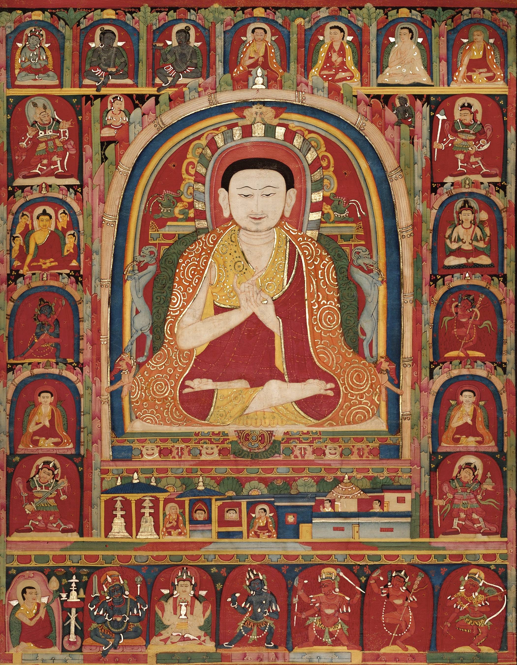 11. Portrait of Tashipal 扎西华肖像