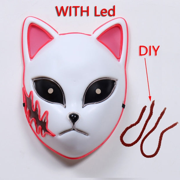 Demon Slayer Tanjirou LED Mask