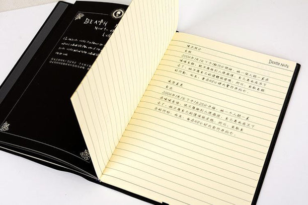 Death Note Planner Anime Diary